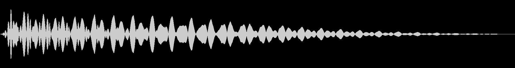 PureTouch アプリ用タッチ音70の未再生の波形