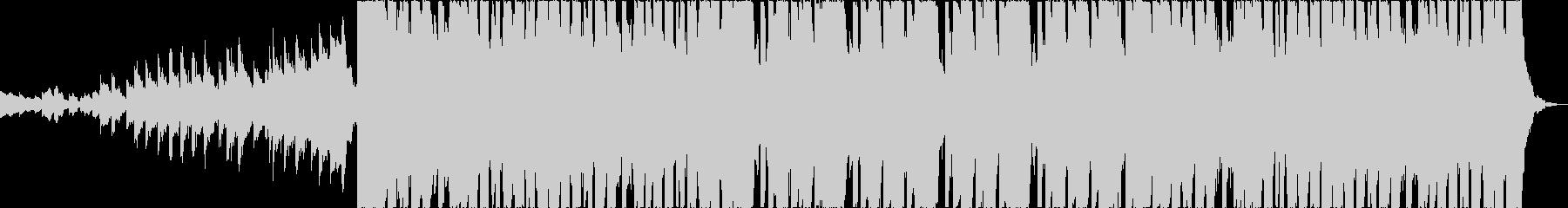華やか軽快和風EDMエレクトロロックbの未再生の波形