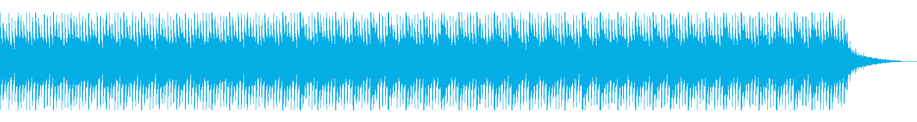 推理や論理的な思考中などの場面のBGMの再生済みの波形