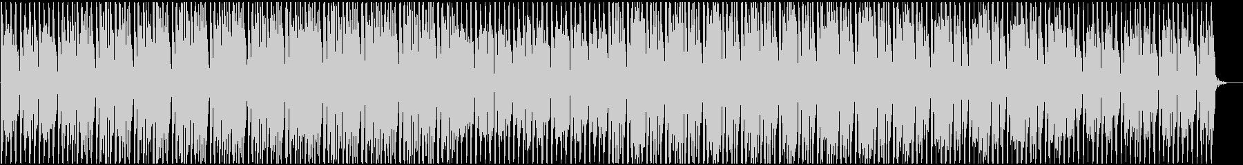 明るく軽快でトロピカルなポップスBGMの未再生の波形
