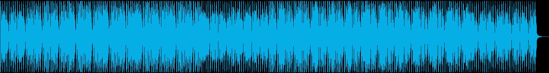 明るく軽快でトロピカルなポップスBGMの再生済みの波形