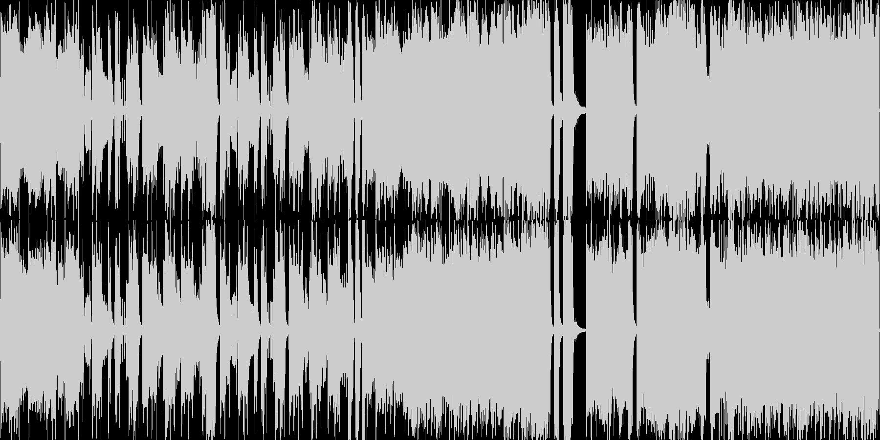 ループ音源ファンクオーケストラホーンの未再生の波形