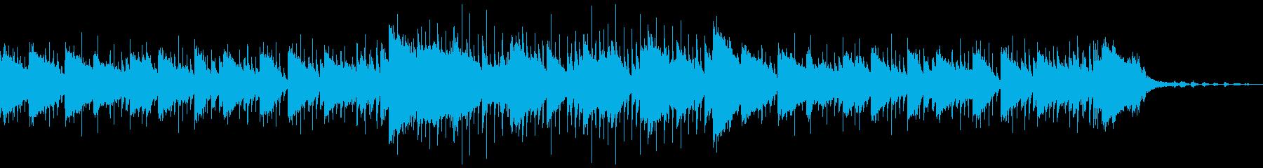 穏やかなYoutube映像に大人なジャズの再生済みの波形