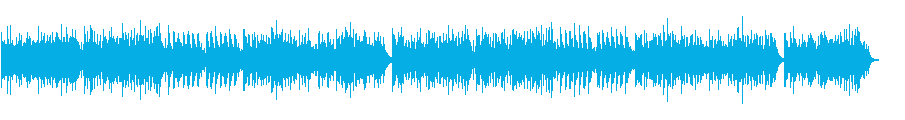 RPGゲームで不思議な森に迷い込んだ様なの再生済みの波形