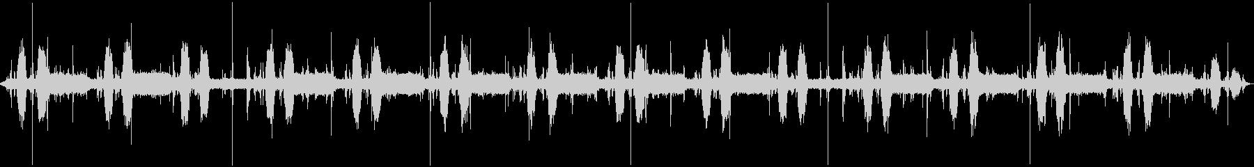 CDハンドリングマシン:ランニング...の未再生の波形