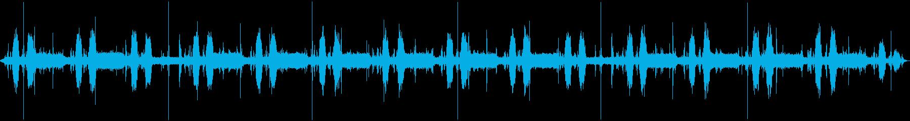 CDハンドリングマシン:ランニング...の再生済みの波形