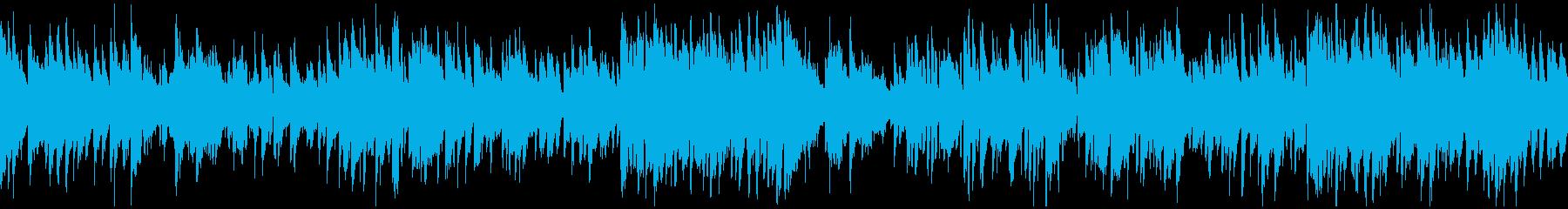 クールでかっこいい系のボサノバ※ループ版の再生済みの波形