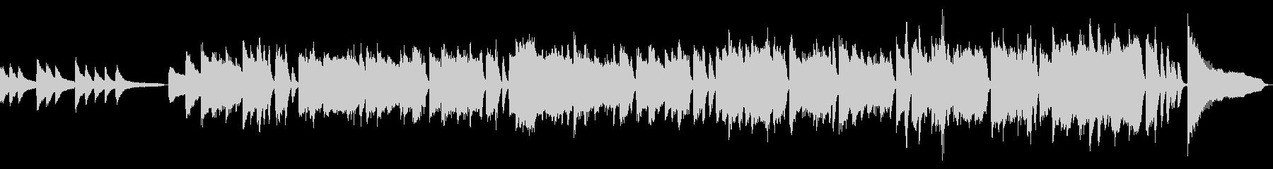 【ピアノソロ】ジングルベル(ジャズ風)の未再生の波形