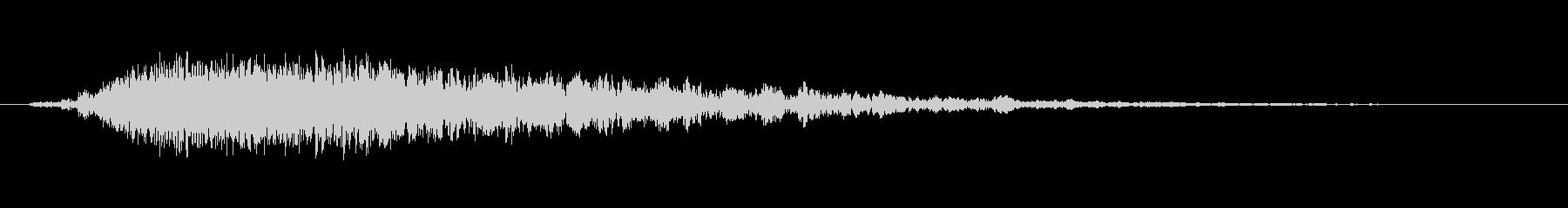 打撃 合唱団ヒットダーク01の未再生の波形