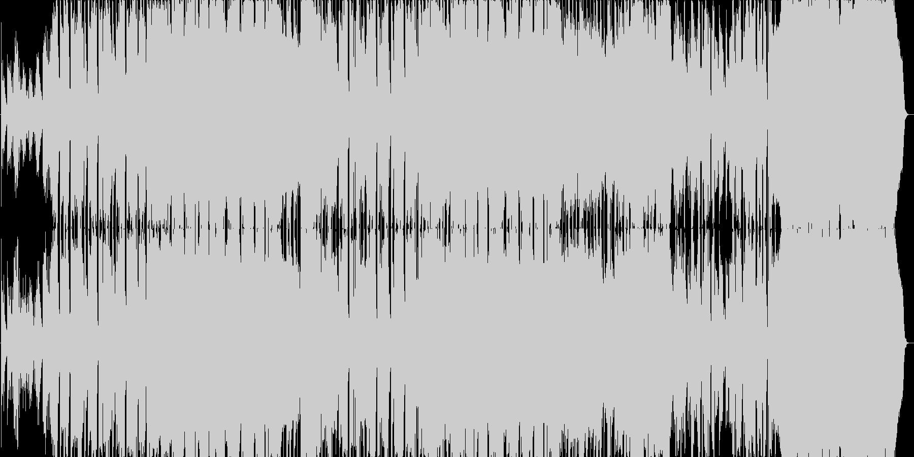 珠玉のバラードの未再生の波形