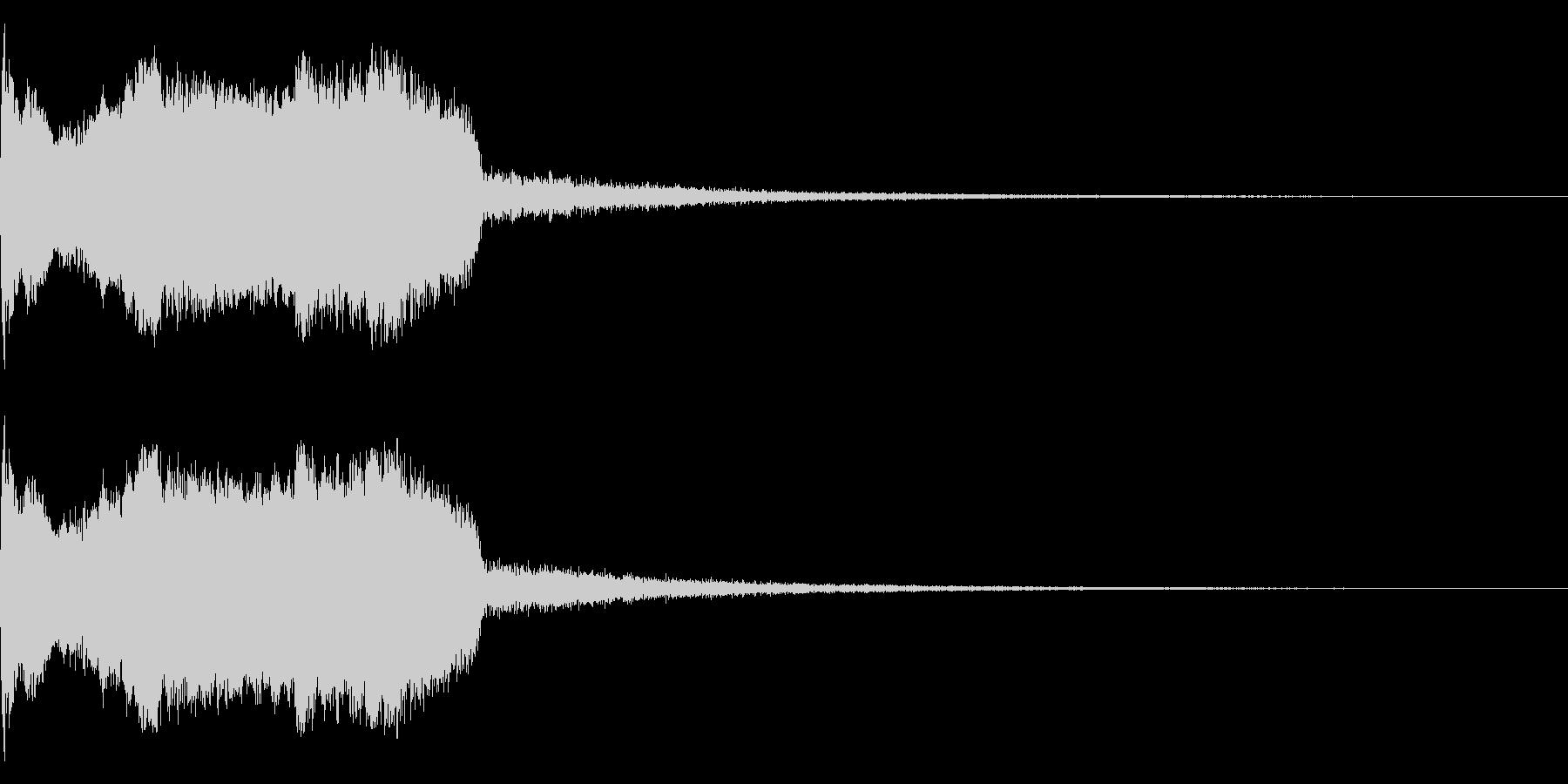 DJFX ヒットチャート発表前SE 19の未再生の波形