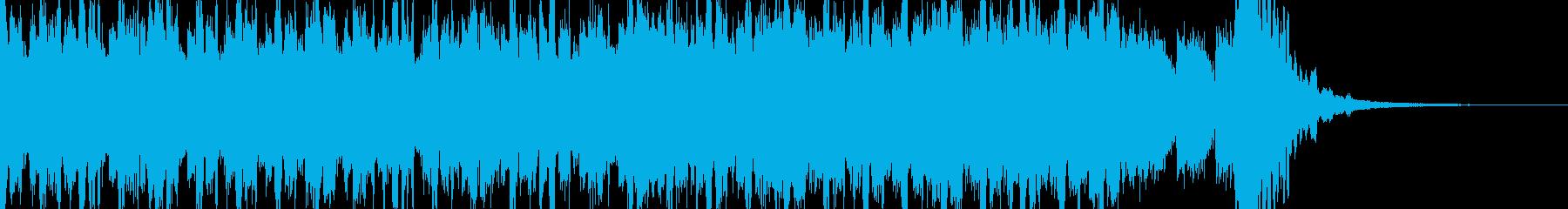 EDM,テンションを上げるオープニング!の再生済みの波形
