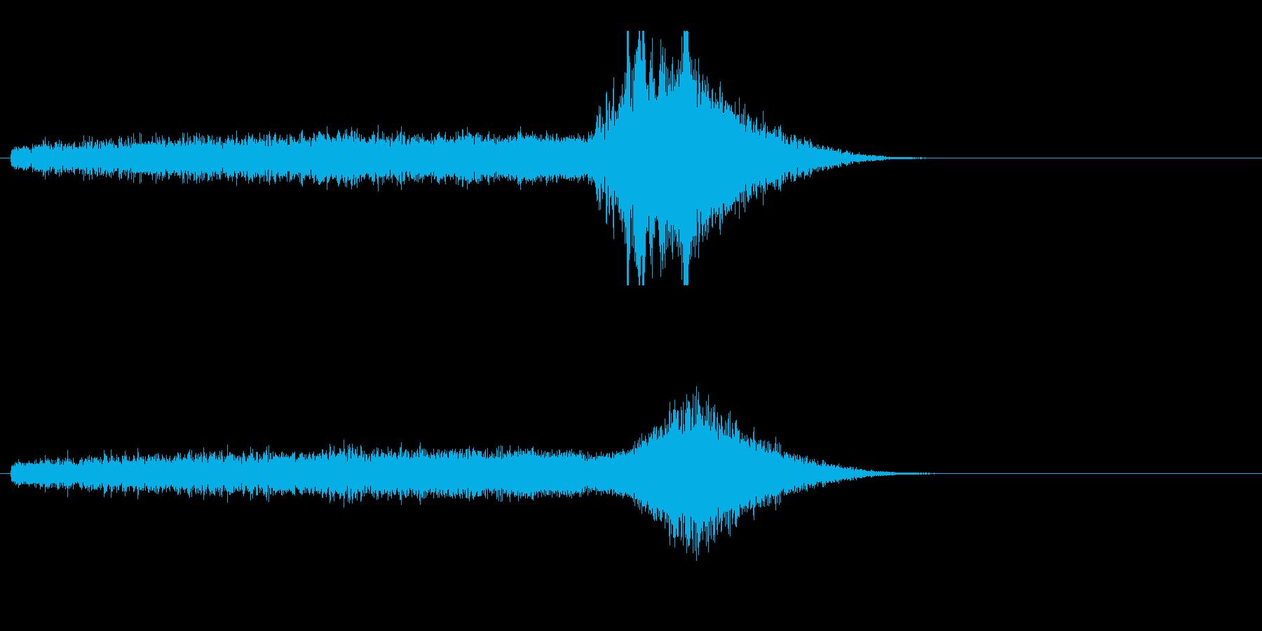 スティンガー-アンビエントピッチア...の再生済みの波形