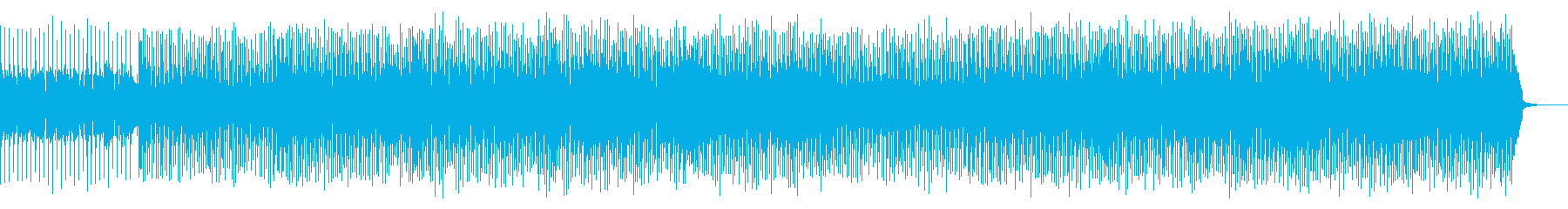 口笛やギターが明るく軽快なBGMの再生済みの波形