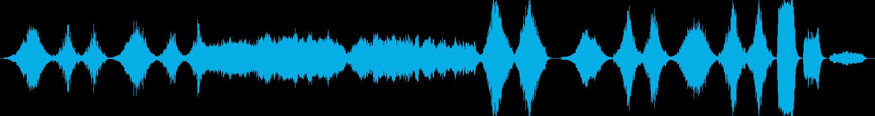 オーケストラ・RPGダンジョン等・ループの再生済みの波形