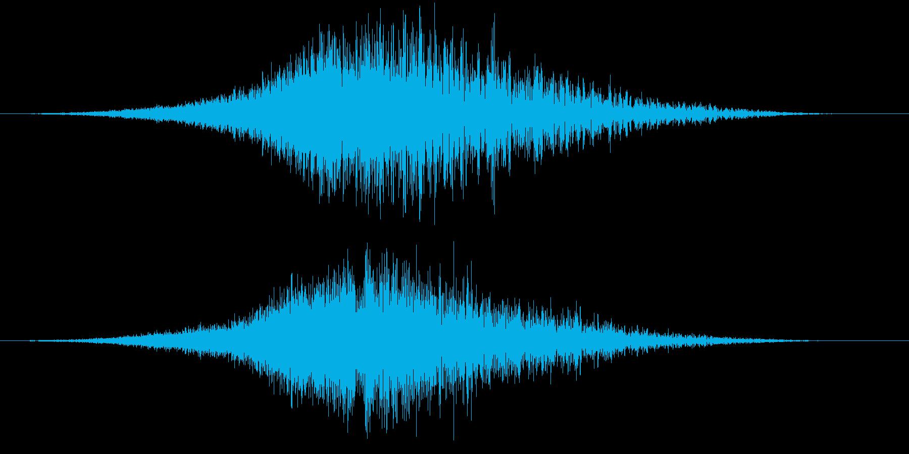 【ホラーゲーム】薄気味悪いシーン_03の再生済みの波形