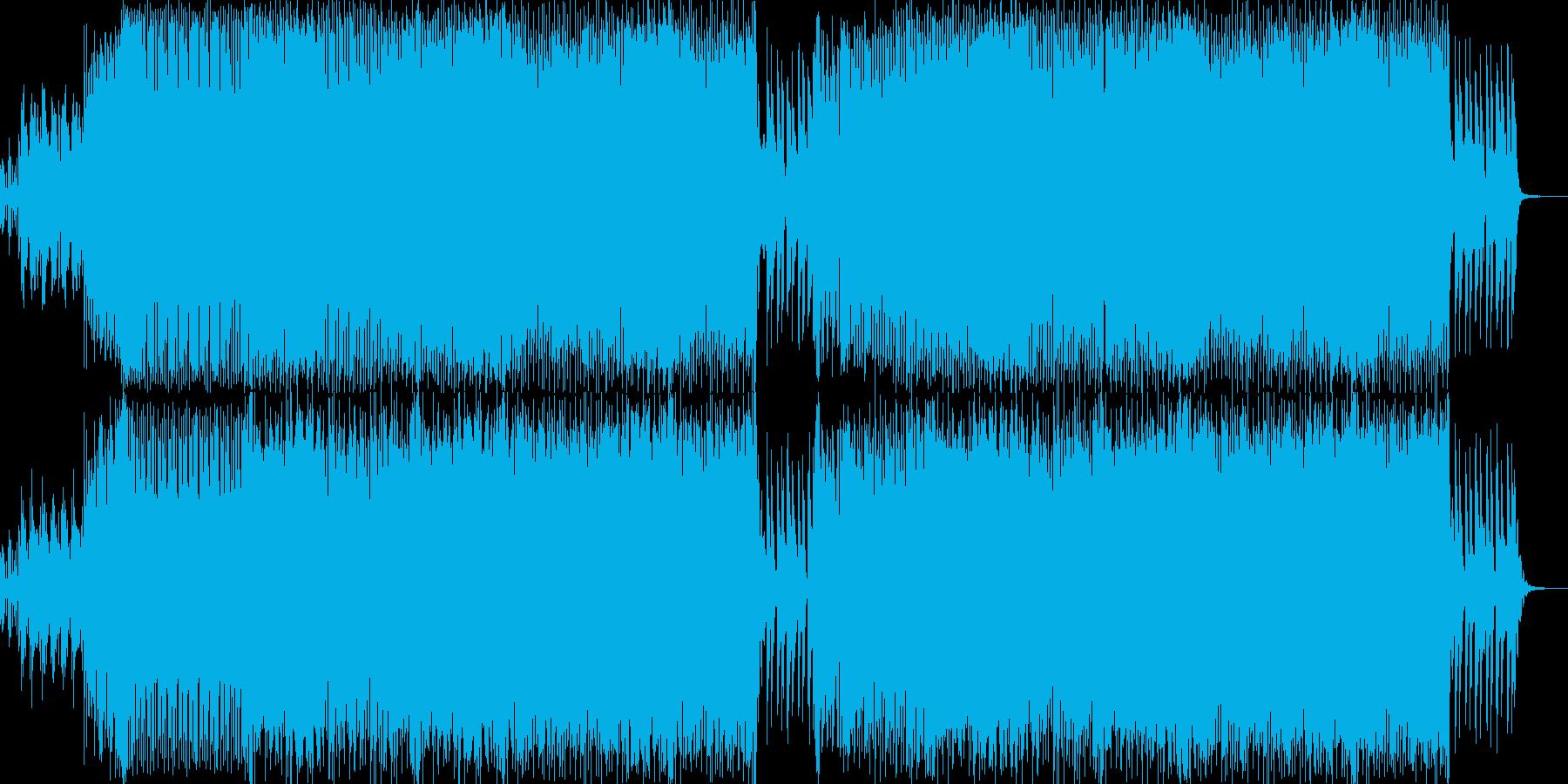 ジャジーなピアノが印象的なビッグビートの再生済みの波形