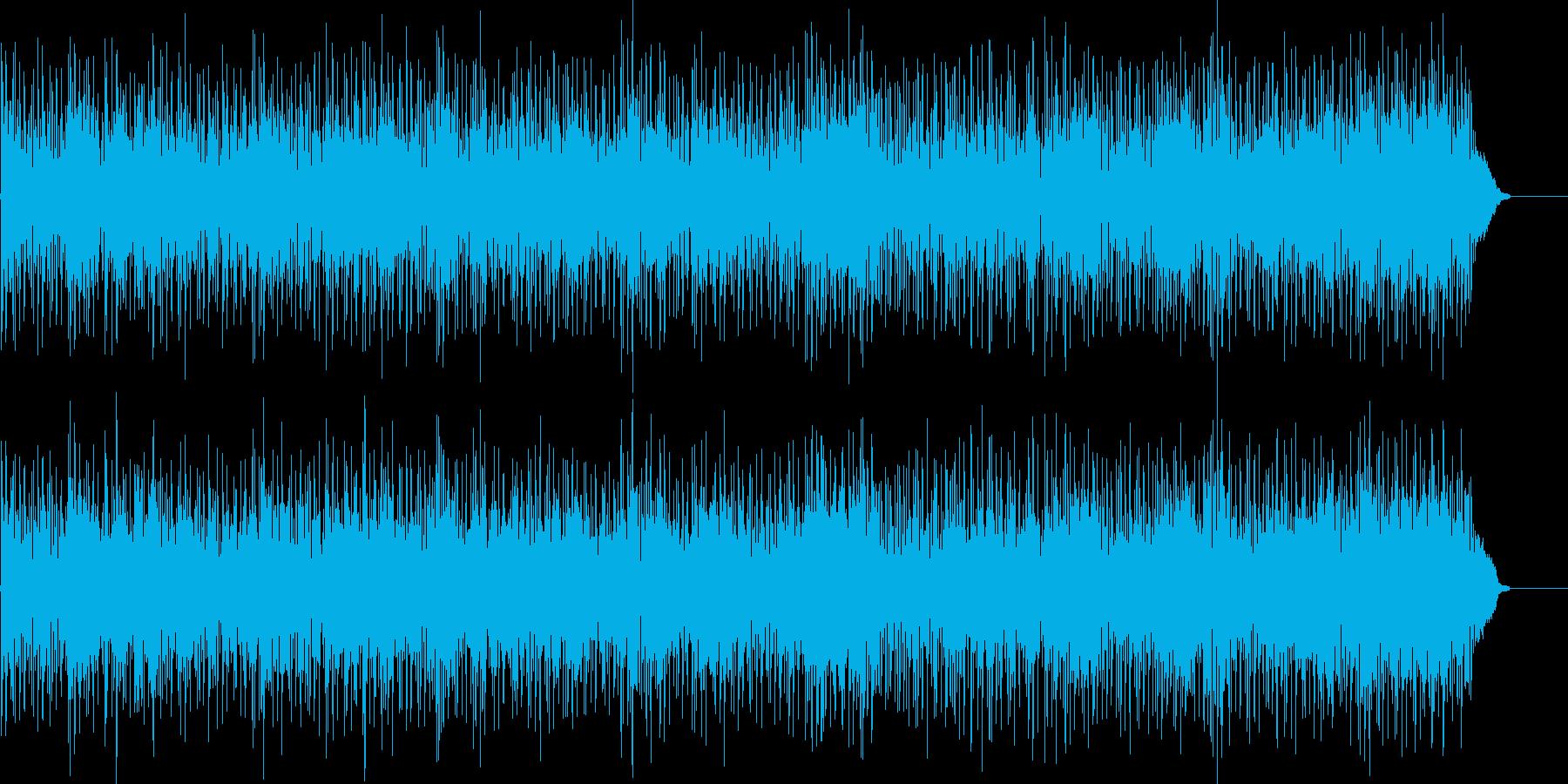 大人な雰囲気でかっこいいメロディーの再生済みの波形