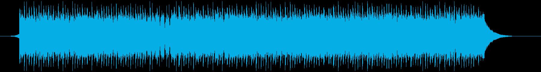 建設会社(60秒)の再生済みの波形