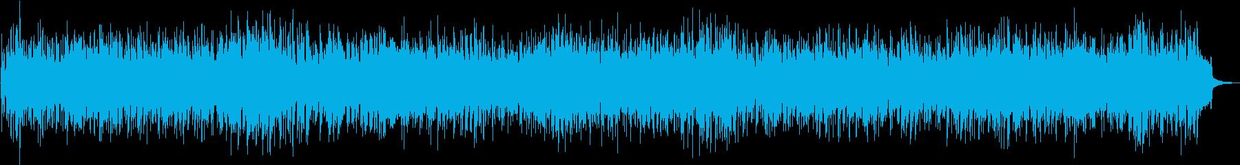 カントリーバイオリン明るいレトロジャズの再生済みの波形