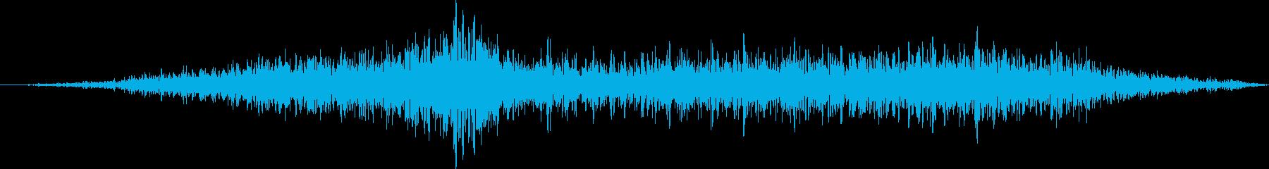 空母:グレイハウンドツイン支柱:内...の再生済みの波形