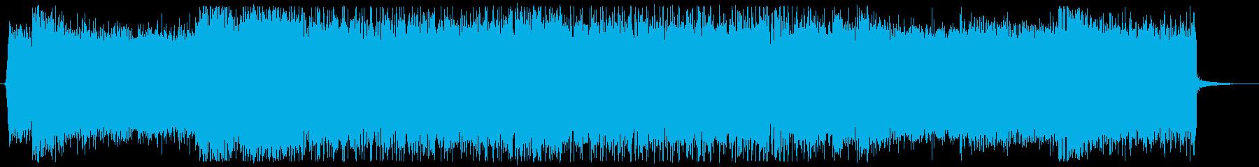 高音質!メタルパンクなジングル 出囃子の再生済みの波形