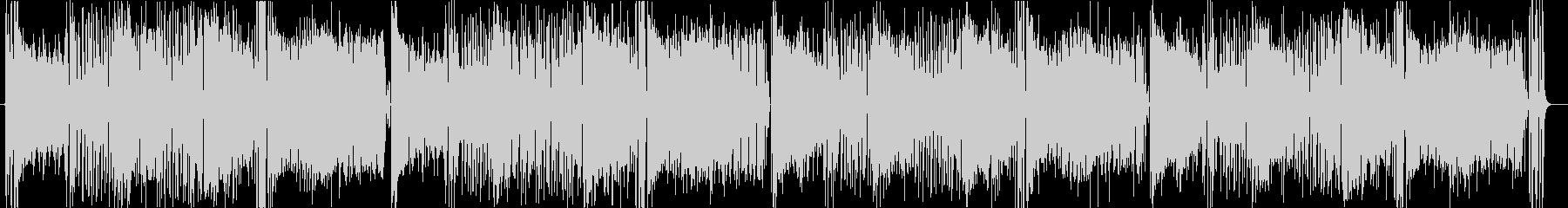 トロピカルでポップでかわいいゲーム音楽曲の未再生の波形