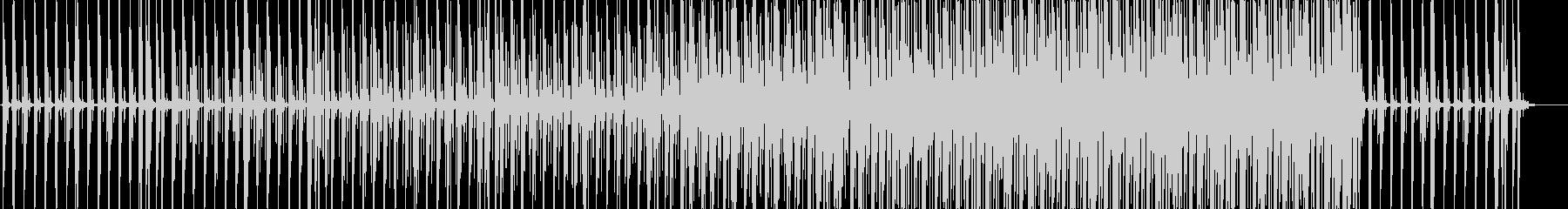リズミカルなサンバ曲の未再生の波形