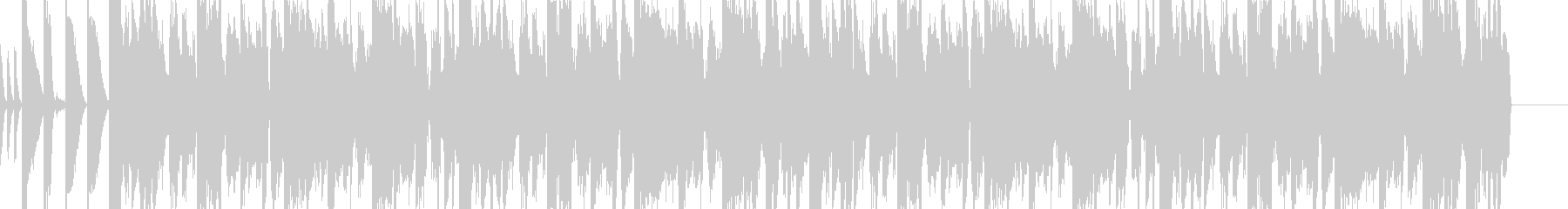 ダブステップなジングルの未再生の波形