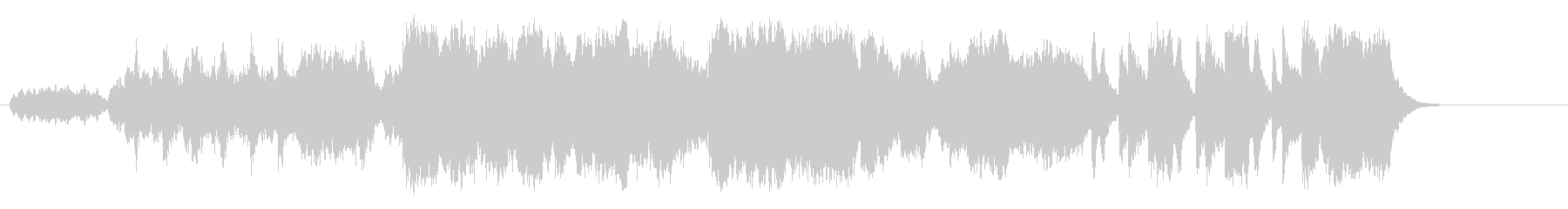 木漏れ日の幻想的なクラシック/BGの未再生の波形