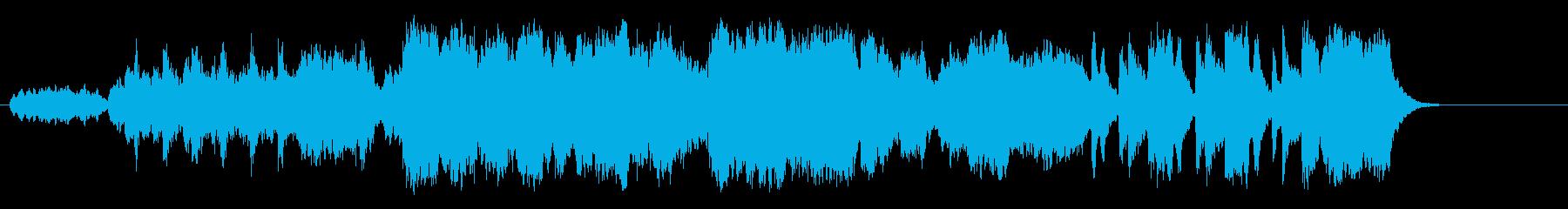 木漏れ日の幻想的なクラシック/BGの再生済みの波形
