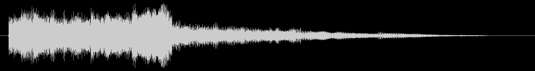 決定音 選択音 セレクト音 ゲーム音の未再生の波形