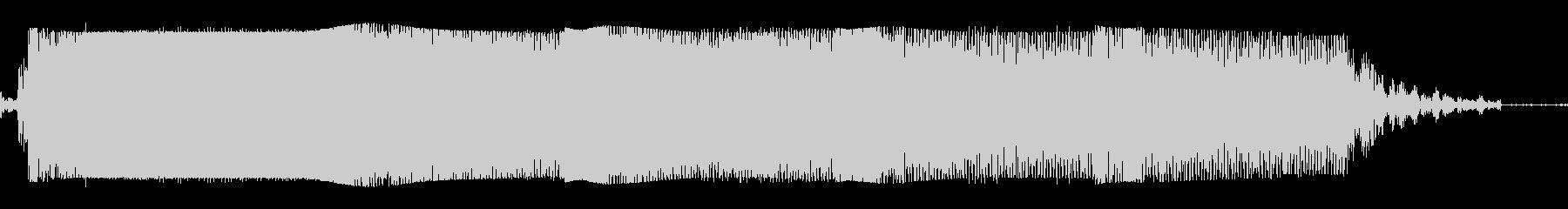 ギターメタルパワーコードzr wの未再生の波形