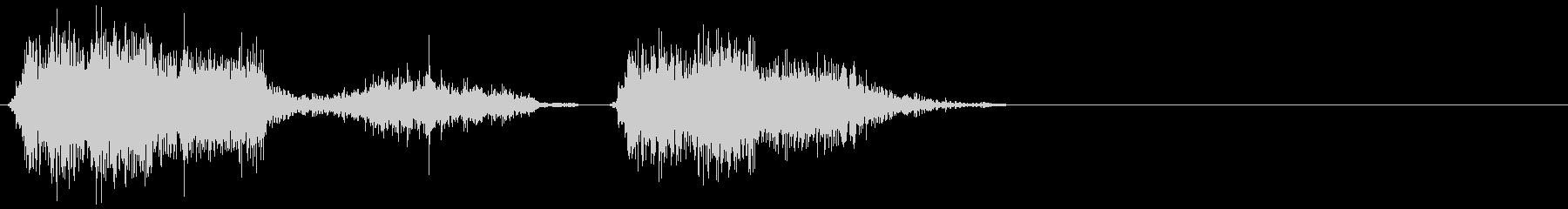 モンスターコンバイン14の未再生の波形
