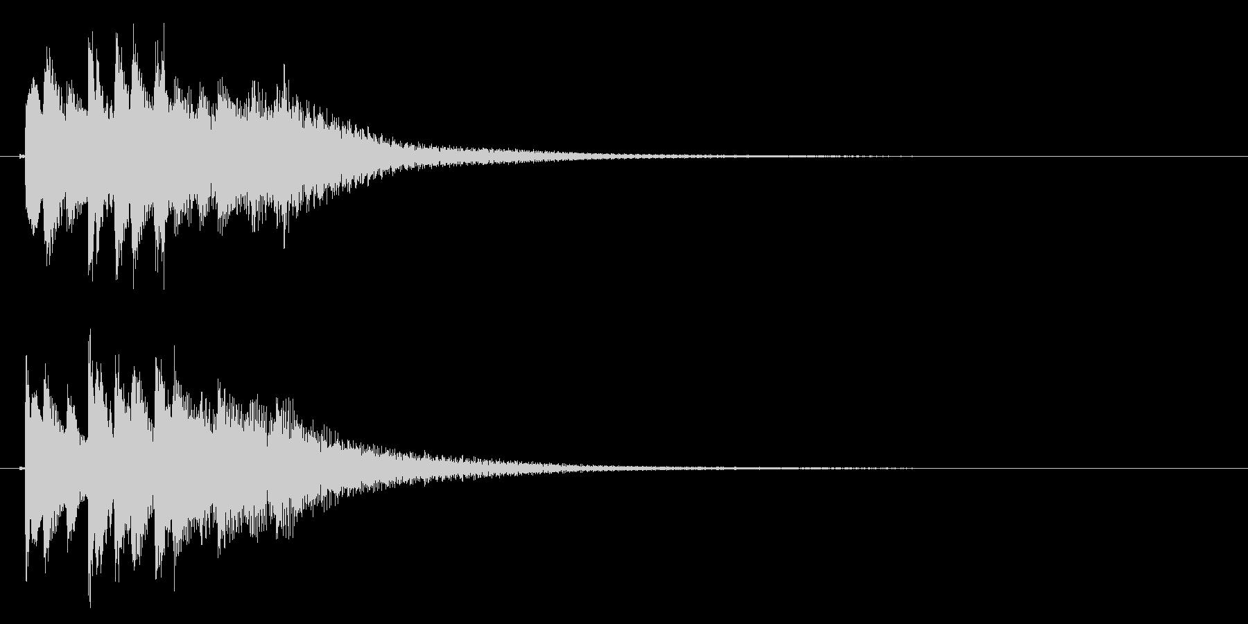 琴のフレーズ1☆調律2の未再生の波形