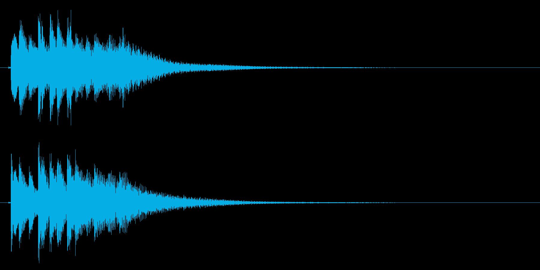 琴のフレーズ1☆調律2の再生済みの波形
