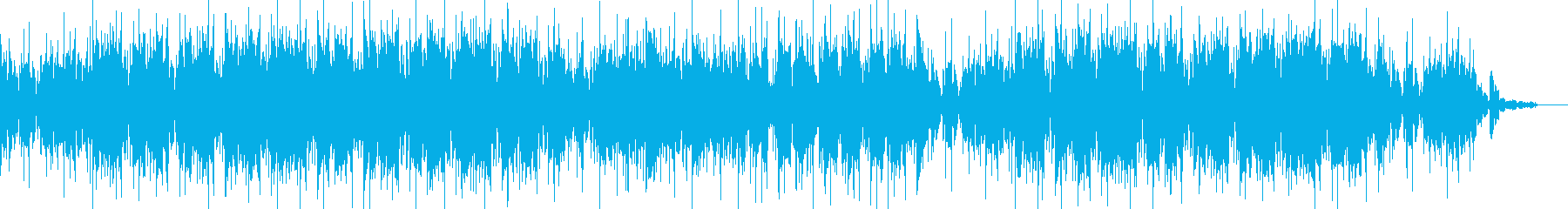 おしゃれでゆったり・癒しローファイの再生済みの波形