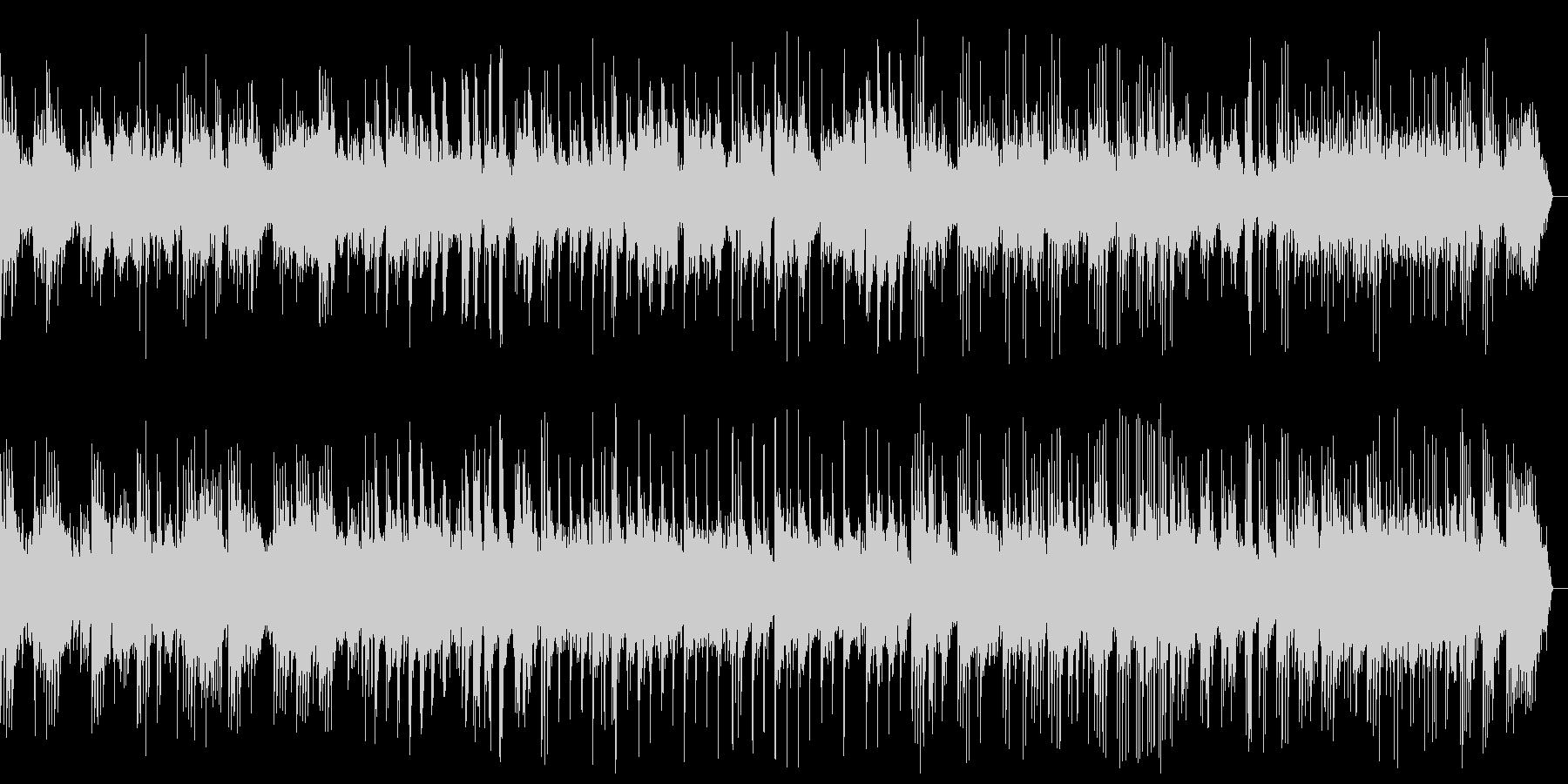 しっとりと穏やかなピアノバラードの未再生の波形