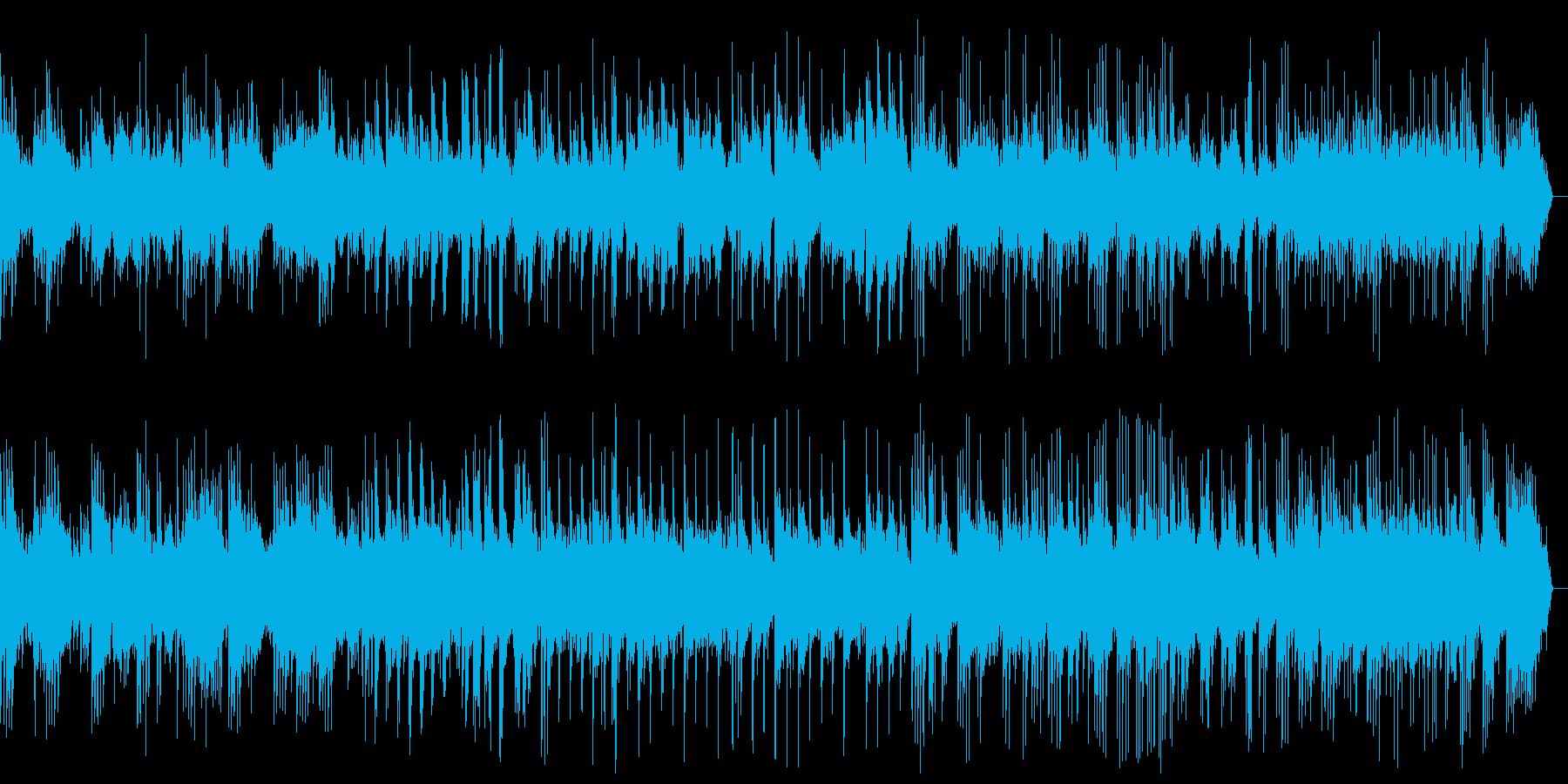 しっとりと穏やかなピアノバラードの再生済みの波形