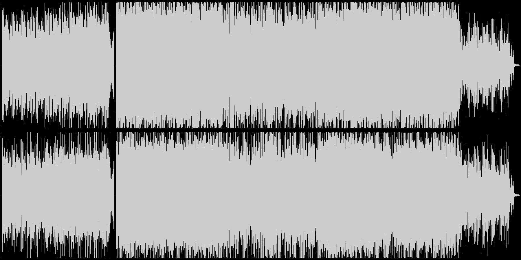 明るいロックな青春系インスト 映像BGMの未再生の波形