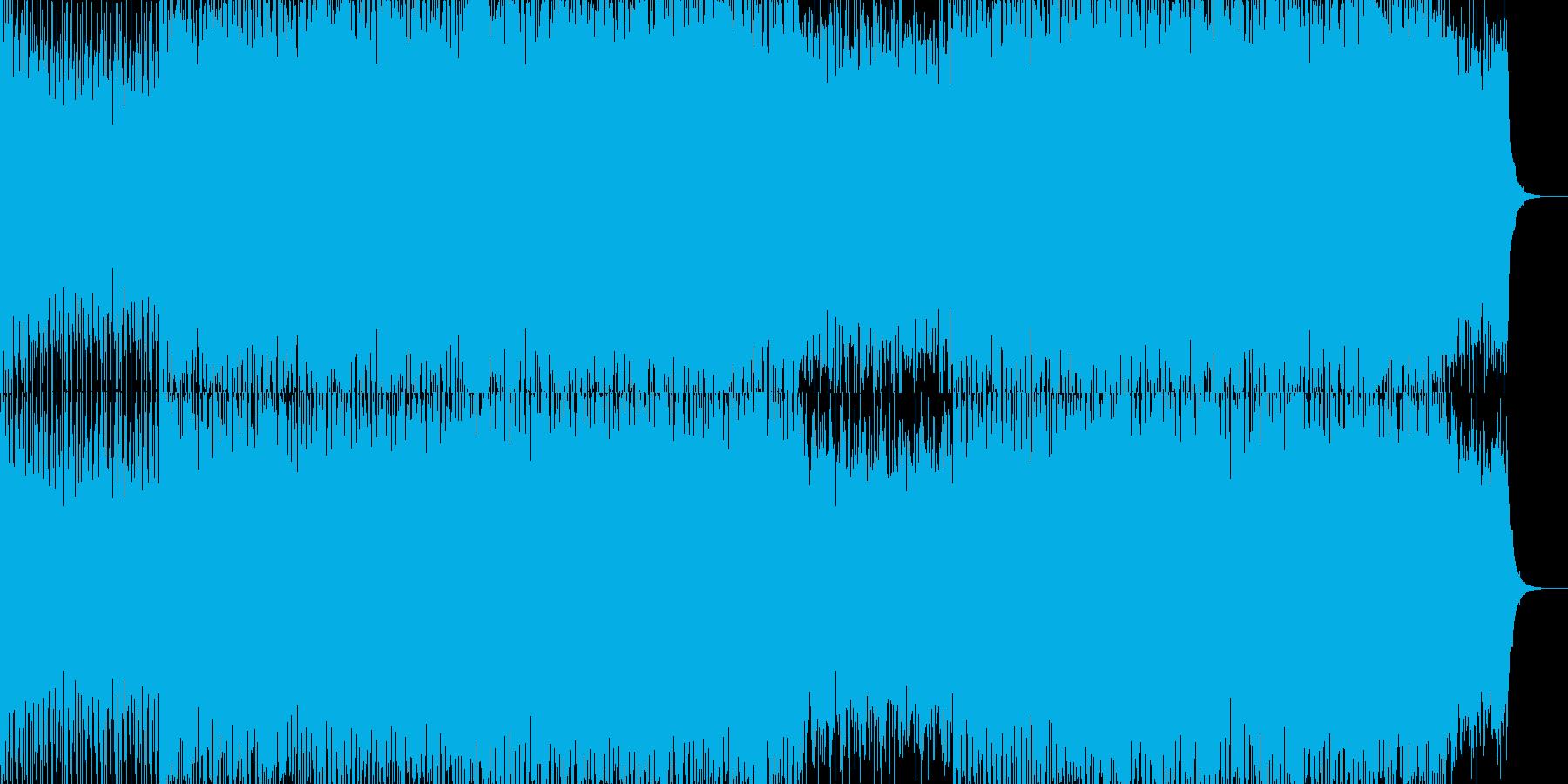 EDMクラブ系ダンスミュージック-89の再生済みの波形
