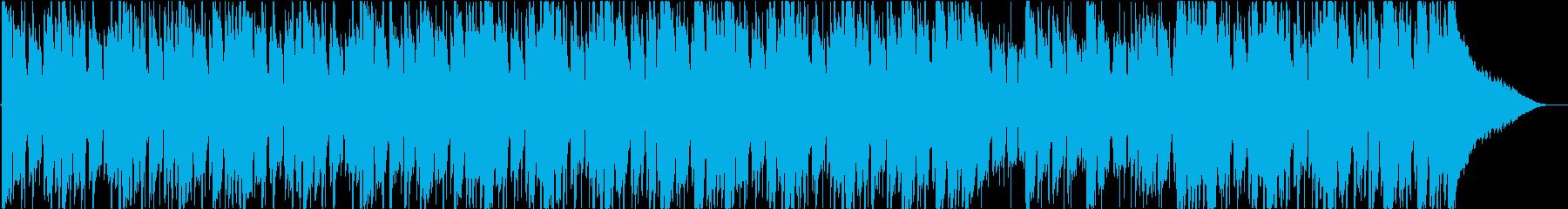 背景、ジャズの再生済みの波形