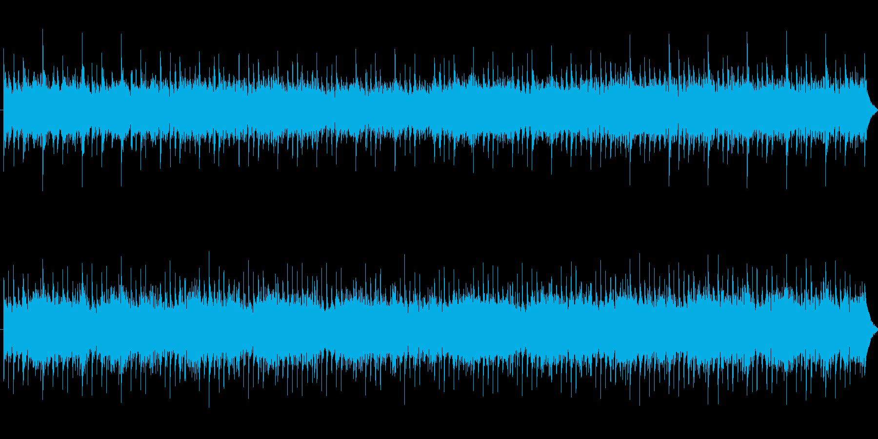 【幕開け】何かが始まりそうな力強い曲の再生済みの波形