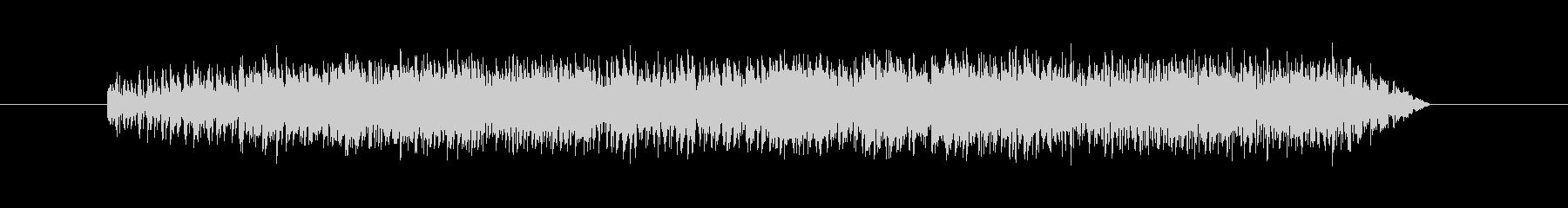 「ビビビューン」というサイバーなビーム音の未再生の波形