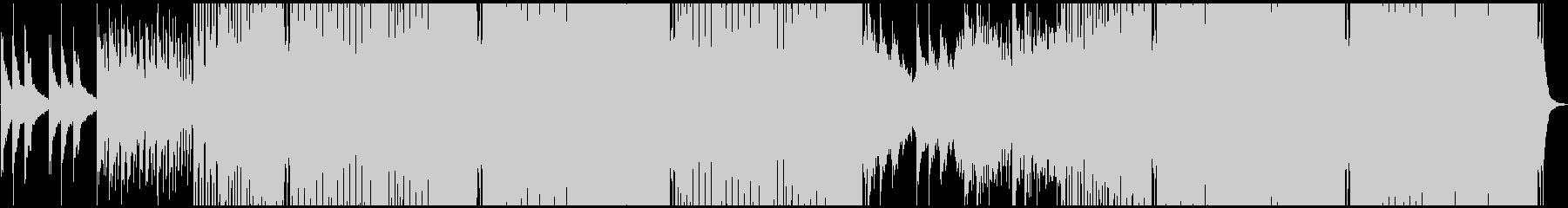クールな雰囲気のEDMの未再生の波形