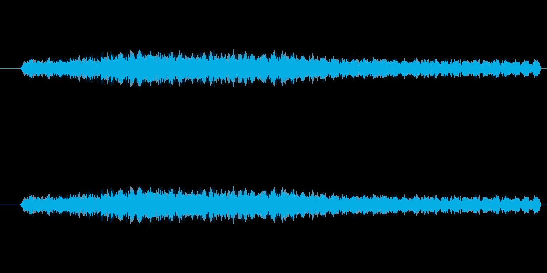 特撮 インターフェース計算06の再生済みの波形