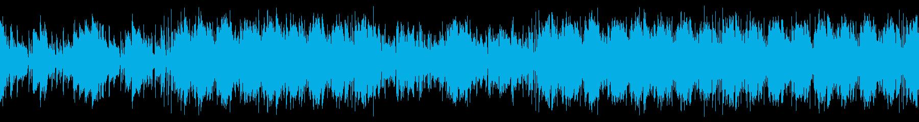 映像・大人な夏・ジャズ・ループの再生済みの波形