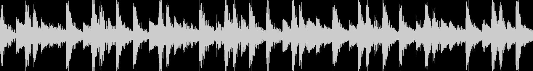 リザルト音01(ループ仕様)の未再生の波形