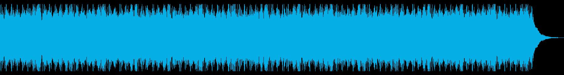 ボス戦をイメージしたBGMの再生済みの波形