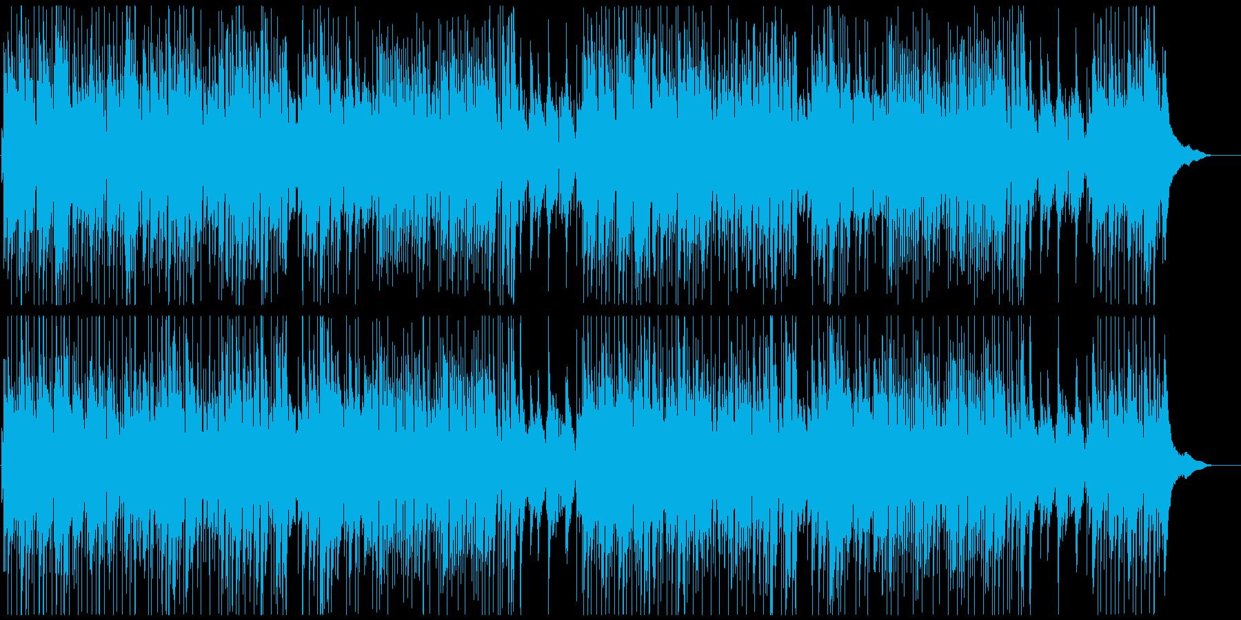 オープニング系爽やかピアノポップ明るいの再生済みの波形